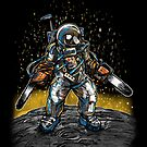 The Texas Chainsaw Astronaut by nickv47