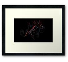 Helterskelter Goth Framed Print