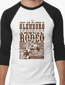 Glenboro Prison Annual Rodeo Men's Baseball ¾ T-Shirt