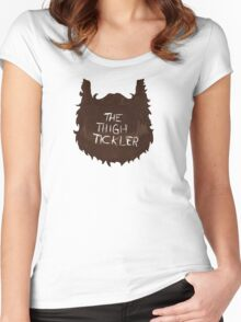 The Thigh Tickler Women's Fitted Scoop T-Shirt