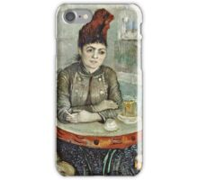 Vincent Van Gogh - In  Cafe Agostina Segatori In Le Tambourin, January 1887 - March 1887  iPhone Case/Skin