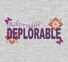 Adorable DEPLORABLE One Piece - Long Sleeve