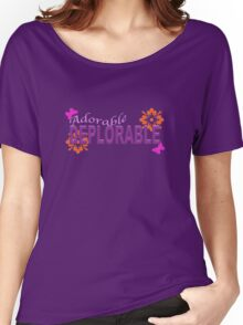 Adorable DEPLORABLE Women's Relaxed Fit T-Shirt