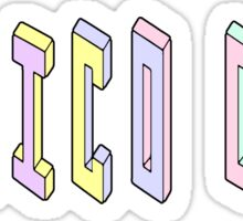 Pastel Collection: Mexico City Sticker