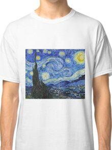 Vincent Van Gogh -  Starry Night 1889  Classic T-Shirt