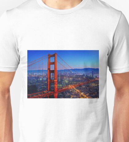 San Francisco at Sunset Unisex T-Shirt