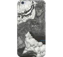 G3 Gamera vs GMK Godzilla iPhone Case/Skin