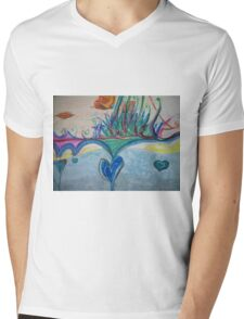 A Bridge in the Sky Mens V-Neck T-Shirt