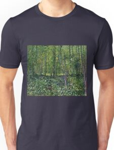 Vincent Van Gogh - Trees And Undergrowth, July 1887 - 1887  Unisex T-Shirt