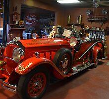 1930 Packard Fire Truck Conversion by BearheartFoto