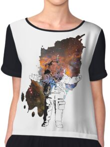 Space Man Chiffon Top
