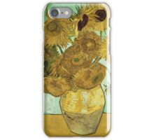 Vincent Van Gogh - Sunflowers 1888 iPhone Case/Skin