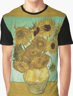 Vincent Van Gogh - Sunflowers 1888 Graphic T-Shirt
