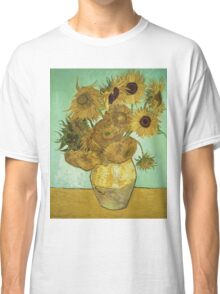 Vincent Van Gogh - Sunflowers 1888 Classic T-Shirt