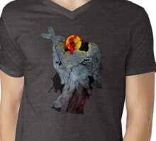 Angels Lay in Ashes  Mens V-Neck T-Shirt