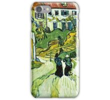 Vincent Van Gogh - Stairway At Auvers 1890  iPhone Case/Skin