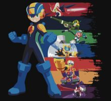 Megaman: Souls of a Hero V2 T-Shirt