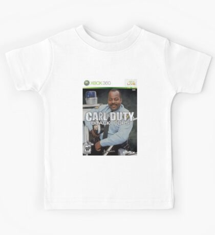 Carl on Duty: Black Cops Kids Tee