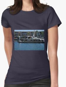 Boat 2 Womens Fitted T-Shirt