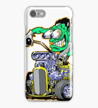 Hot rod Eddie iPhone Case/Skin