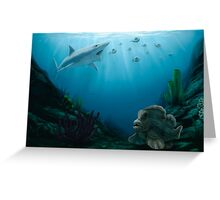 Permian Fishes Greeting Card