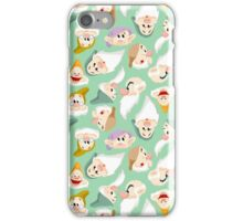 Dwarfs Pattern iPhone Case/Skin