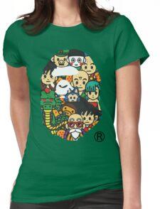 バプxDBZ Womens Fitted T-Shirt