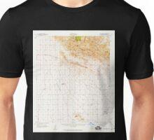 USGS TOPO Map Arizona AZ Dos Cabezas 314547 1957 62500 Unisex T-Shirt