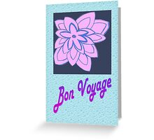 Bon Voyage Greeting Card