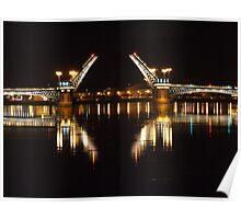 Black Nights in St. Petersburg Poster