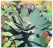 Miro Speaks to Agave Poster