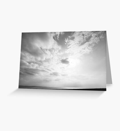 Border - West Coast - A View  Greeting Card