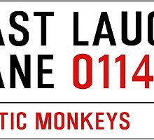 Arctic Monkeys - Fluorescent Adolescent Last Laugh Lane by KieranBurcham