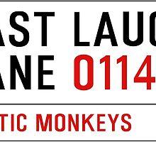 Arctic Monkeys - Fluorescent Adolescent Last Laugh Lane by KieranBurcham