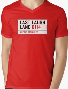 Arctic Monkeys - Fluorescent Adolescent Last Laugh Lane Mens V-Neck T-Shirt
