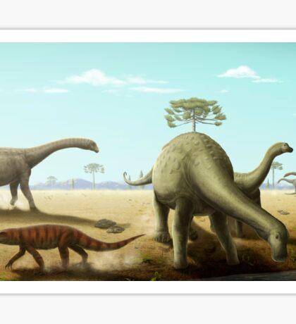 Bauru Sauropods Sticker