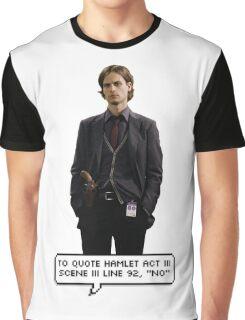 Spencer Reid Criminal Minds Graphic T-Shirt