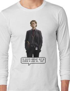 Spencer Reid Criminal Minds Long Sleeve T-Shirt