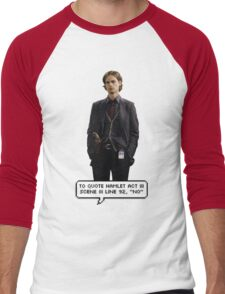 Spencer Reid Criminal Minds Men's Baseball ¾ T-Shirt