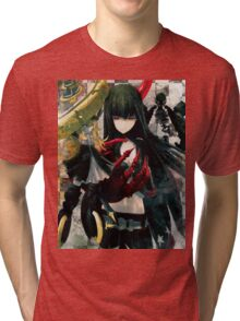 Girl Anime Tri-blend T-Shirt