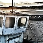 beadnell harbour by H J Field