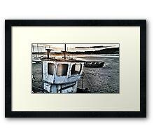 beadnell harbour Framed Print