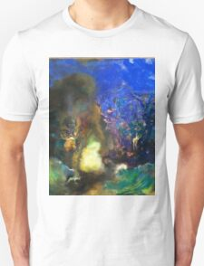 Odilon Redon - Roger And Angelica 1910  Unisex T-Shirt