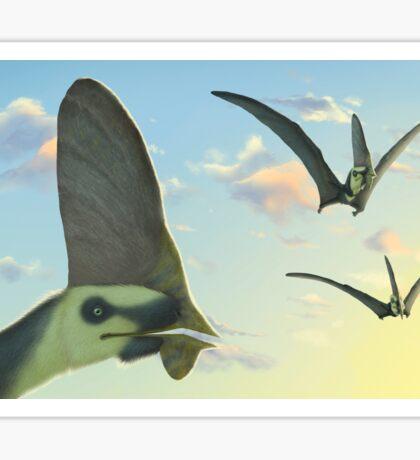Pterosaur Sky - Tupandactylus Sticker