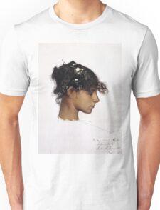 John Singer Sargent - Head Of A Capri Girl  Unisex T-Shirt