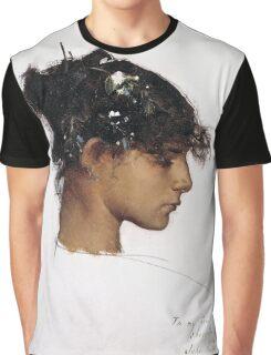 John Singer Sargent - Head Of A Capri Girl  Graphic T-Shirt