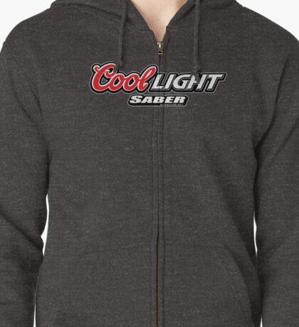Cool Light Saber Zipped Hoodie