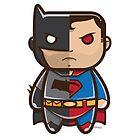 Batman V Superman Vector by Diego Riselli