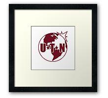 UTN Logo Framed Print