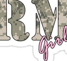 Army Girlfriend Pink Sticker